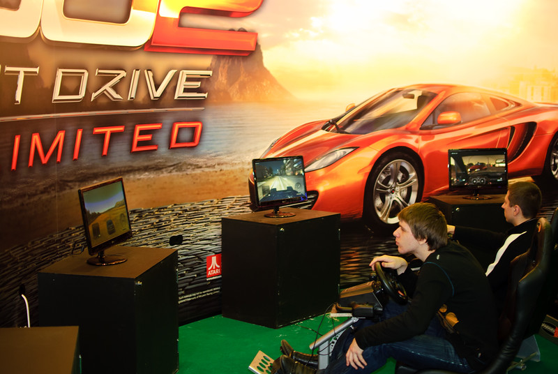 Test Drive Unlimited 2 at Igromir 2010