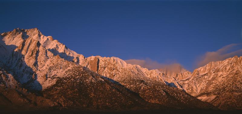 Mount Whitney, California, 1995