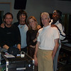 Me with Ron Wood, Sheryl Crowe, Charlie Watts, and Daryl Jones.  Oct of 2002 at O'Henry 'A' for Tim Ries' Rolling Stones project tracking.  How often does this happen?!?