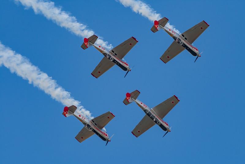 Aerostars, Shoreham 2007, Yak-50, Yakolev, http://www.aerostars.co.uk/