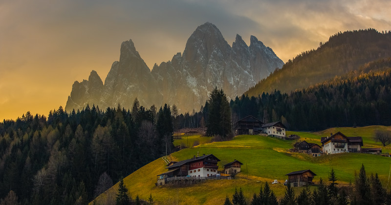 Dolomite Mountains, Val Di Funes, Italy