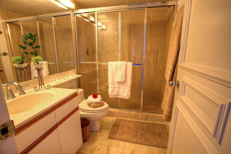 Guest bathroom/Banheiro de Hospedes