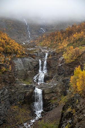 Herraneselva Waterfall