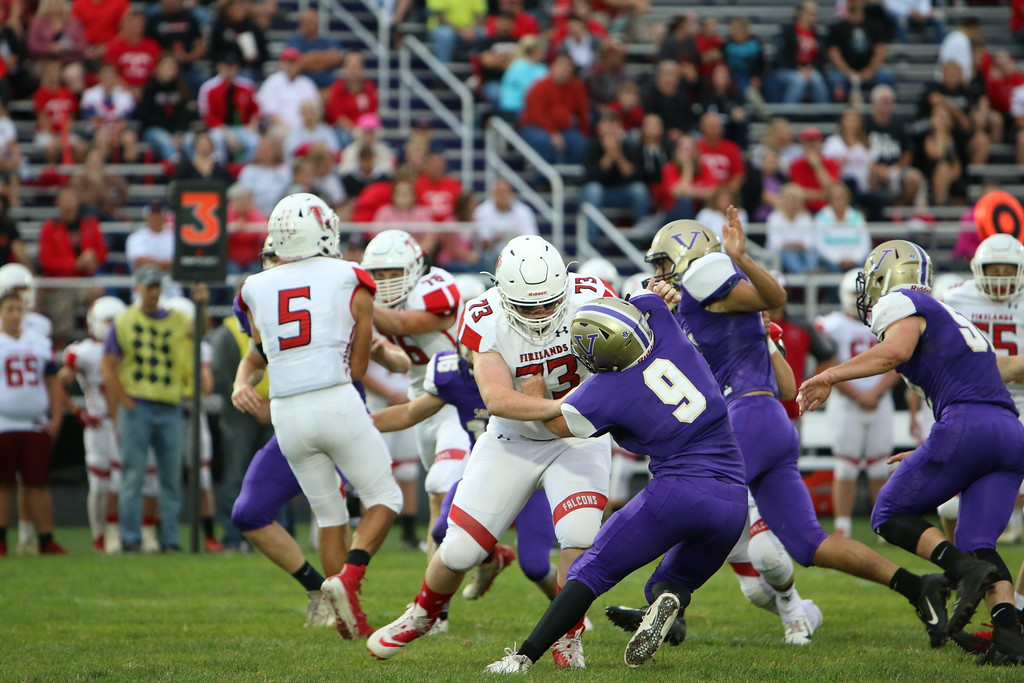 . Kyle Sooy - The Morning Journal<br> Scenes from the Vermilon vs. Firelands game on Sept. 7.