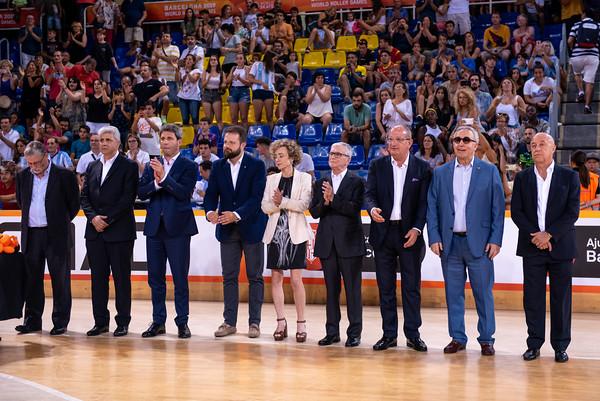 Senior Men's World Championship award ceremony
