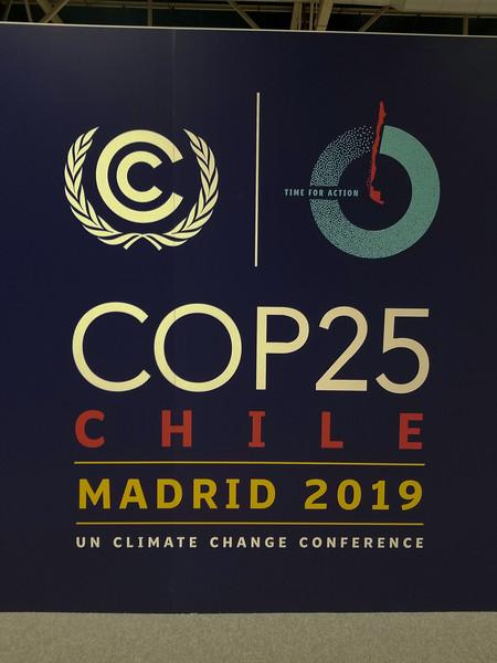 COP 25 -- Madrid 2019