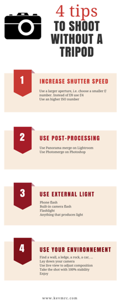4 tips to shoot without a tripod (Infographics).png