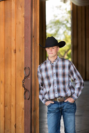 Parker M - Senior Portraits