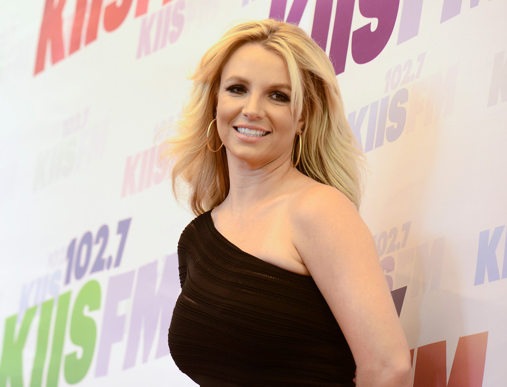 . Singer Britney Spears arrives at Wango Tango 2013 at The Home Depot Center on Saturday, May 11, 2013 in Carson, Calif. (Photo by Dan Steinberg/Invision/AP)