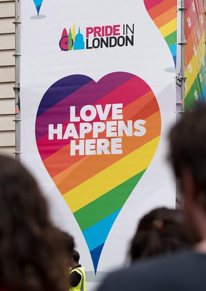 Pride Parade Portraits; London 2017
