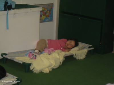 1/26 - Nappy time at preschool