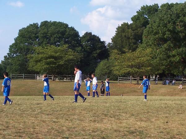 FUMA MS Soccer vs. Goochland MS
