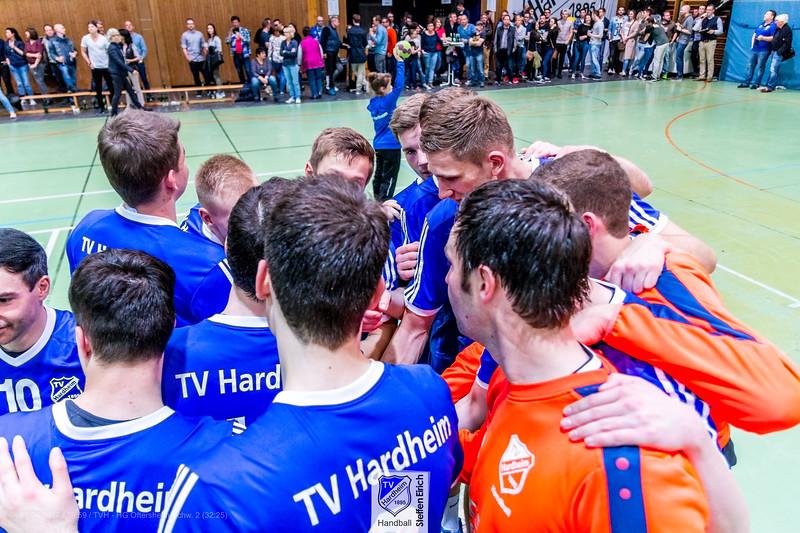 Handball Badenliga: TVH-HG Oftersheim/Schw. 2 (32:25)