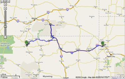 2008/July 14 - to Spearfish, SD