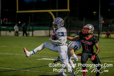 10-14-2016 Blair HS vs Sherwood HS Varsity Football , Photos by Jeffrey Vogt Photography with James McCrae