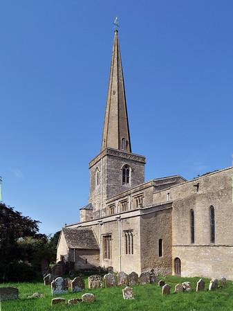 St Peter and St Paul, Church of England, Church Road, Church Hanborough, OX29 8AB
