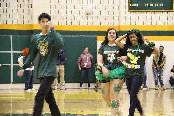 SV clash of the classes pep rally  4-12-2019