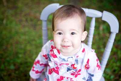 Jewell Family- Charlotte 1 year