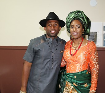 Ikenna and Iman