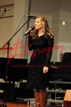 CHS Choir at LBC 121513