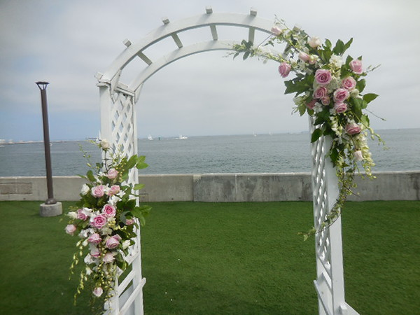 Sub base Pt Loma   $295-- to be used on bridal table later