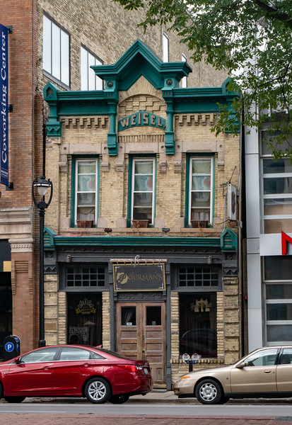 Historic Building, Old World 3rd Street, Milwaukee
