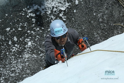 Ice Climbing with Phil
