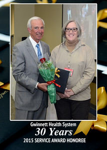 Gwinnett Health System Service Awards 2015