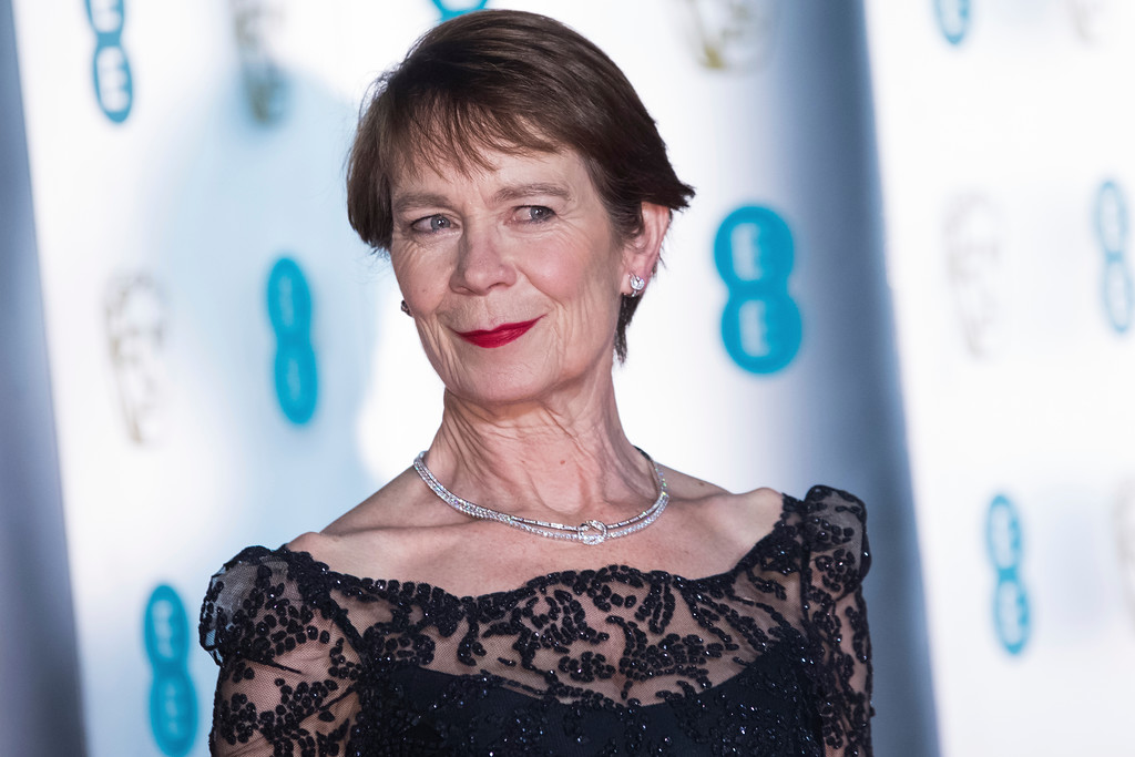 . Celia Imrie poses for photographers upon arrival at the BAFTA Film Awards after-party, in London, Sunday, Feb. 18, 2018. (Photo by Vianney Le Caer/Invision/AP)