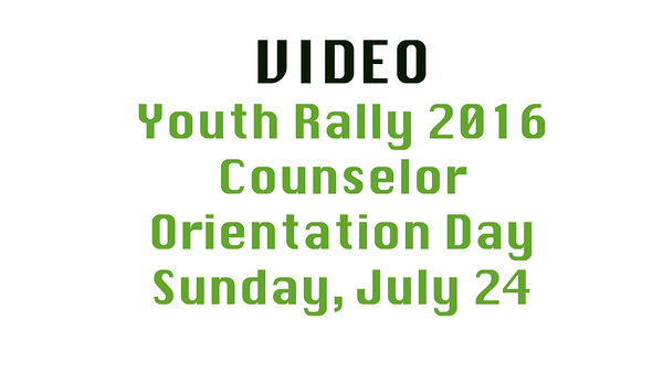 Video Sunday 2016 Youth Rally