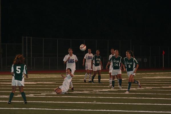 2006-10-12 IHS Girls Soccer vs Skyline