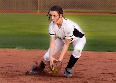 Softball Verrado Varsity vs Buckeye 4/3/2012