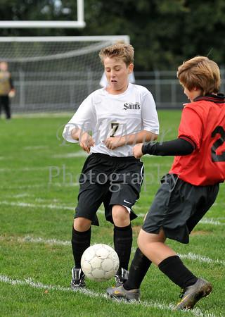 Berks Catholic VS Schuylkill Valley Boys Junior High Soccer