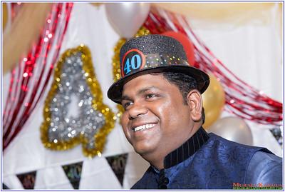 Arvind 40th Birthday