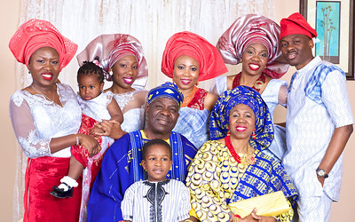 Adejuwon Family Portrait