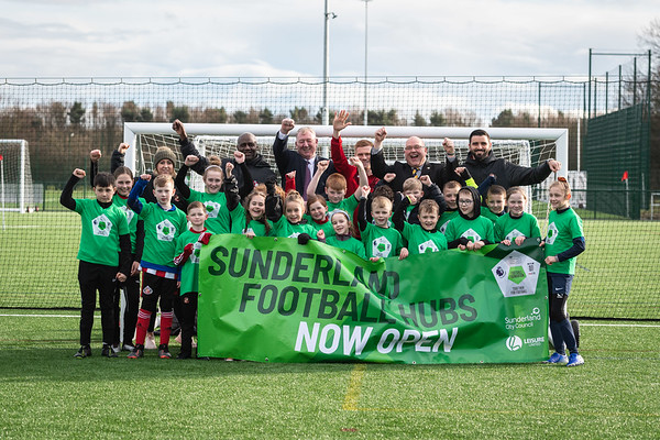 19/2/20 Football Foundation - Sunderland Football Hubs