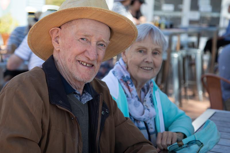 Canberra Yacht Club, March 2018. Colin Holmes & Enid Holmes.
