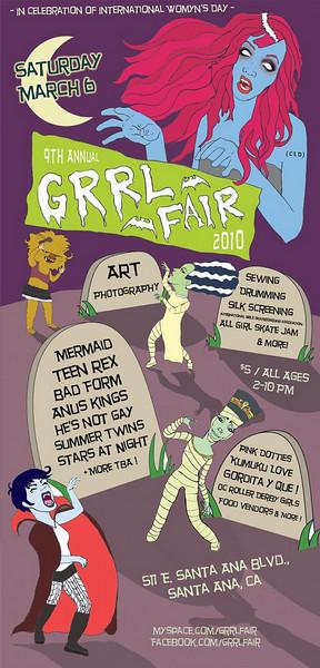 Grrl Fair - at Calacas - Santa Ana, CA - March 6, 2010