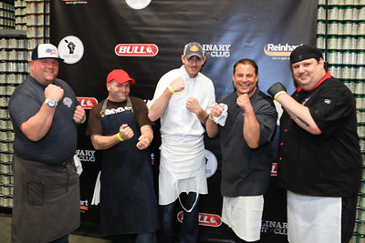 Culinary Food Fight - Boston at Mayflower Brewing  4/27/17