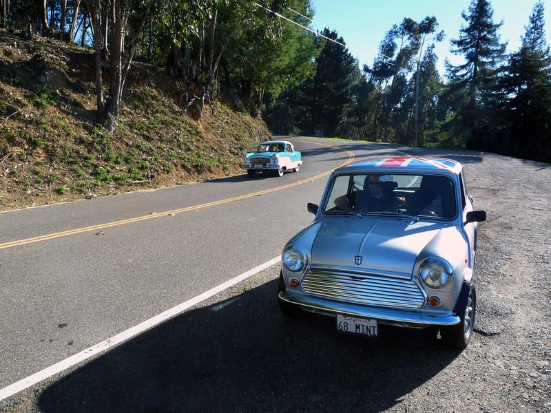Metro & Mini in the Pullover Rally