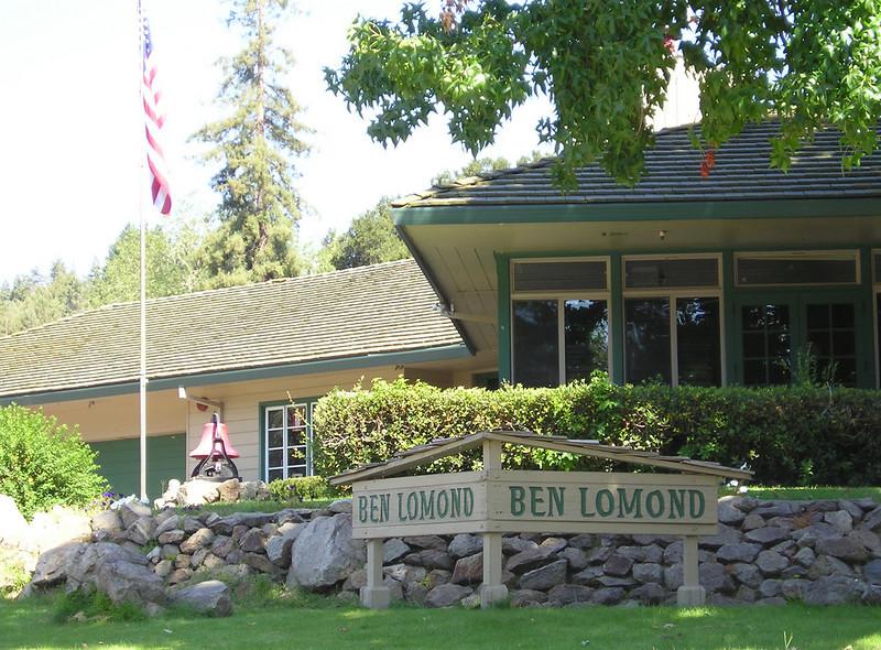 Ben Lomond Fire Station.
