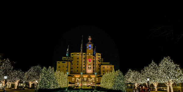 Broadmoor Christmas Lights 2017