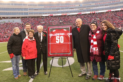 Mike's Final Game at Camp Randall