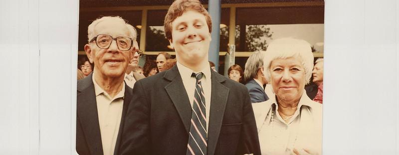 1984 06 Steven's Jr. High Graduation