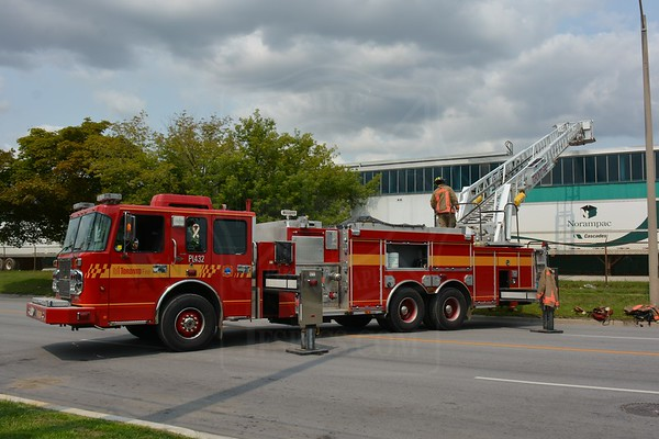 August 8, 2014 - 3rd Alarm - 450 Evans Ave.