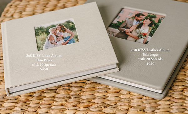 KISS Wedding Albums Pricing Guide and Samples