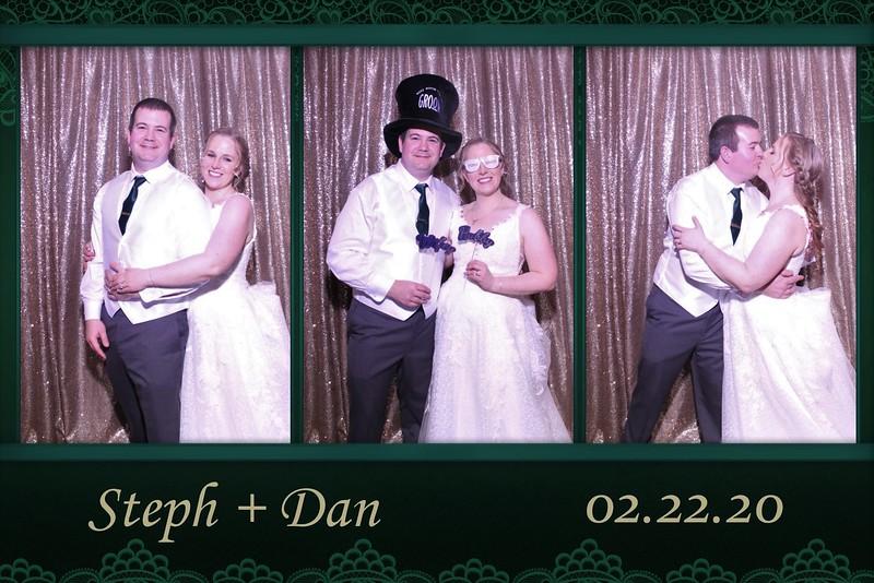THE WEDDING OF STEPH & DAN