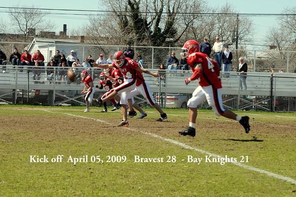 Bravest 28 vs Bay Knights 21 April 05 2009