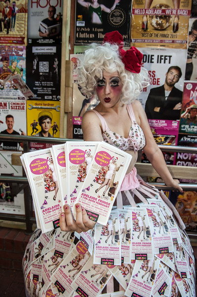 Adelaide Fringe - out and about