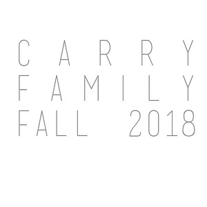 Carry Family Fall 2018